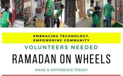 Volunteers needed for Ramadan on Wheels (Hamper Distribution)